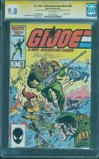 G.I.Joe 56 CGC SS 9.8 Mike Zeck Larry Hama Bob McLeod 3 Signed Top 1