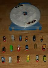 Thomas Tank Train & Friends  With DC Super Friends Minis Carry Case & 18 Engines