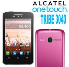 Alcatel Tribe 3040 Téléphone portable débloqué Bluetooth WiFi Rose