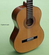 4/4 Konzert-Gitarre La Mancha Rubi S Fichte massiv spanische Bauart bundrein Top