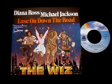 """OST/BO THE WIZ/DIANA ROSS MICHAEL JACKSON/EASE ON DOWN THE ROAD /FRENCH 7"""" SP"""