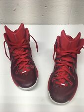 Nike Hyperdunk TB Red Mens Basketball Casual Shoes 653483-606 Men's Size 8