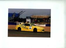 Steve Soper PEUGEOT 406 COUPE BTCC 2001 firmato fotografia 2