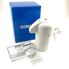 Conair Heated Lotion Dispenser Warms Hand Body Lotion White HLD22