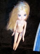 "Moxie Girlz I am Strong Avery 10"" MGA Doll Blonde Hair Blue Eyes Boots"