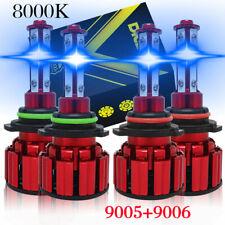 8000k Led Headlights Lights Bulbs For Chevy Silverado 1500 2500hd 3500 1999 2006 Fits 2005 Chevrolet Silverado 2500 Hd Ls