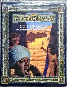 Forgotten Realms City of Gold with Map