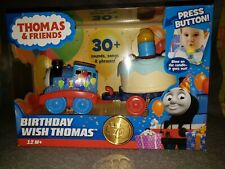75th Anniversary Thomas & Friends Train Blow out Birthday Cake Candle Songs