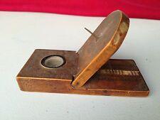 Antique China precious wood sundial compass sun dial clock