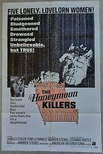 "~*~ Original Vintage Rare HORROR Film Theater Poster ""THE HONEYMOON KILLERS"" ~*~"