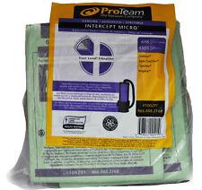 PRO TEAM véritable Intercept Micro Filtre sac papier Aspirateur, paquet de 10