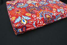 LF811t Red Yellow Green Blue sky Cotton Canvas 3D Seat Box Shape Cushion Cover