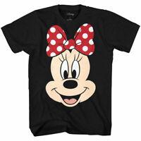 Disney Minnie Mouse Face Big Smile T-Shirt