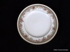 Noritake Ireland Morning Jewel Bread/Butter Plate Floral Band Gold Rim Beautiful