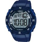 Lorus R2319LX-9 Men's Sport Blue Silicone Watch WR 50mm 10 ATM RRP$79