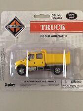 Boley International Dump Truck yellow 4door 4175-88  1/87 Scale