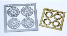 NINCO 80729 Set 4 cerchioni + 4 dischi freno in fotoincisione scala 1/32