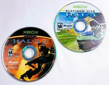 Halo Combat Evolved / Halo 2 XBOX Games LOT DISC ONLY - Tested
