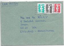 FRANCE COVER 8/7/1993 MARSEILLE - LONDON SG 2907/8/18 MACHINE CANCEL.