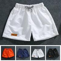 Mens Shorts Fashion Casual Beach Sports Half Pants Fitness Cool Running
