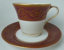 CASTLETON china FLAMENCO pattern Cup & Saucer Set