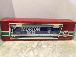 LGB G SCALE 43823 MORTON SALT  HOOPER NEW IN BOX
