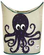 Cute Octopus Laundry Hamper, Baby Clothes Basket Bin, Storage Organizer Bag, New