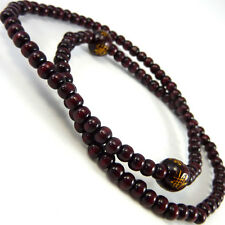 Unisex Cool Oriental Chinese Wooden Beads Fashion Bracelet Brown WB78