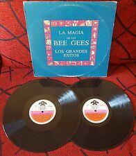 BEE GEES **La Magia De - Los Grandes Exitos** UNIQUE 1993 Venezuela 2-LP HITS!!