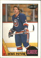 1987-88 O-Pee-Chee Hockey Cards Pick From List