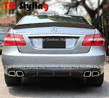 Carbon Fiber Rear Diffuser V Style For Mercedes Benz W212 E-CLASS E63 AMG