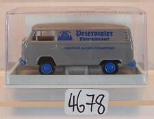 Brekina 1/87 Nr. 33514 Volkswagen Bulli VW T2 Kasten Peterstaler OVP #4678
