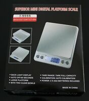 Digital Scale 3000g x 0.1g Jewelry Gold Silver Coin Herb Gram Pocket Size