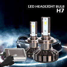 2X 80W 8000LM Auto Car LED Headlight Kit H7 Beam Bulb 6000K White High Power