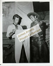 James Arness Gunsmoke Marshal Dillon Clint Eastwood Rawhide  Photo #2