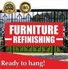 Furniture Refinishing Banner Vinyl Mesh Banner Sign Recliners Chairs Sofas