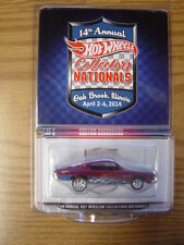 HOTWHEELS Collectors Nationals 14th Convention 2014 Custom Barracuda Finale car