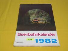 ORIGINAL transpress Eisenbahnkalender Wandkalender 1982 Kalender 29x41 cm DDR