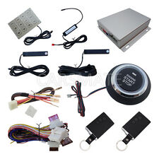 Smart Key RFID PKE Car Alarm System With Push Button & Password Keyless Entry