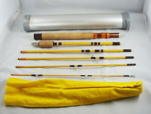 Beautiful EAGLE CLAW TRAILMASTER No. TRP601 Pack Rod + Tube 6-Piece Fishing Rod