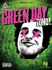 Green Day Uno Sheet Music Guitar Tablature Book NEW