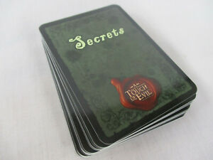 A Touch of Evil SECRETS REPLACEMENT CARDS Flying Frog NEW!!