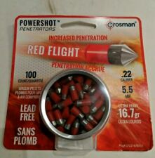Crosman Heavy Metal Ultra Magnum .22 en étain 200 19.0 G de plomb Airgun Pellets
