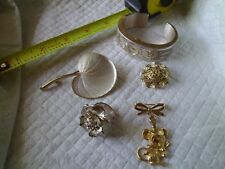 Vintage  Jewelry Lot of 5 Repair/parts