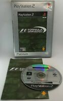 Formula One 2001 Video Game for Sony PlayStation 2 PS2 PAL TESTED