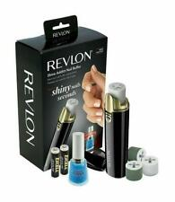 Revlon Battery Powered Shine Addict Nail Buffer & Polisher Plus Cuticle Softener