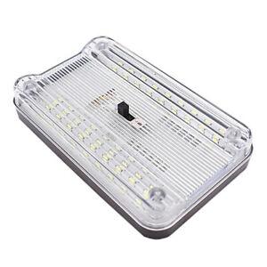 LED Reading Light Interior White Night Light Bulb For Car Trunk Lamp Roof Dome