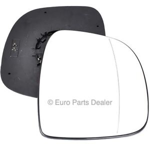Wing door Mirror Glass Driver side Mercedes Vito 2003-09 Heated Blind Spot