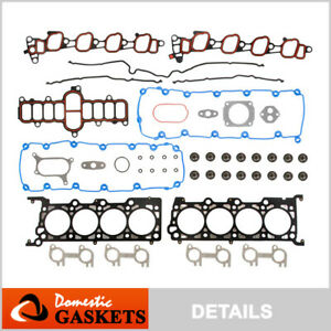 Fits 00-04 Ford F150 F350 Expedition Excursion E150 E250 5.4L Head Gasket Set