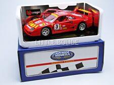 Bburago 1/18 Ferrari F40 Racing - Pilot 3332pilr#